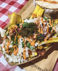 plant-based Latin Caribbean street food